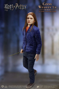HARRY POTTER MY FAVOURITE MOVIE FIGURINE 1/6 GINNY CASUAL WEAR LIMITED EDITION 26 CM