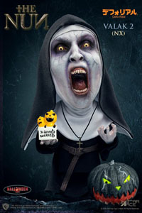 LA NONNE FIGURINE DEFO-REAL SERIES VALAK 2 HALLOWEEN VERSION (OPEN MOUTH) 15 CM