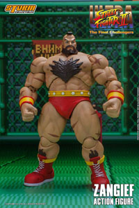 Ultra Street Fighter II The Final Challengers figurine 1/12 Zangief 19 cm