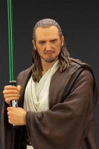 Photo du produit STAR WARS EPISODE I STATUETTE PVC ARTFX+ 1/10 QUI-GON JINN 19 CM Photo 4