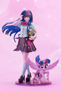 MON PETIT PONEY BISHOUJO STATUETTE PVC 1/7 TWILIGHT SPARKLE LIMITED EDITION 22 CM