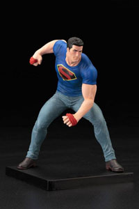 DC COMICS STATUETTE PVC ARTFX+ 1/10 CLARK KENT SUPERMAN ACTION COMICS  TRUTH SDCC 2016