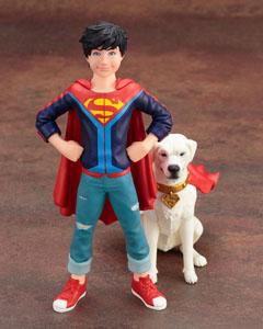 Photo du produit DC COMICS PACK 2 STATUETTES 1/10 PVC ARTFX+ SUPER SONS JONATHAN KENT & KRYPTO Photo 4