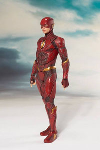 Photo du produit JUSTICE LEAGUE MOVIE STATUETTE PVC ARTFX+ 1/10 THE FLASH 19 CM Photo 1