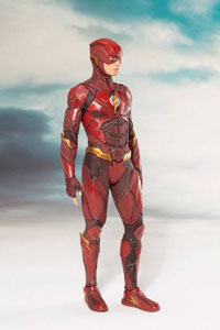 Photo du produit JUSTICE LEAGUE MOVIE STATUETTE PVC ARTFX+ 1/10 THE FLASH 19 CM Photo 2