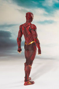 Photo du produit JUSTICE LEAGUE MOVIE STATUETTE PVC ARTFX+ 1/10 THE FLASH 19 CM Photo 3