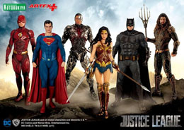 Photo du produit JUSTICE LEAGUE MOVIE STATUETTE PVC ARTFX+ 1/10 THE FLASH 19 CM Photo 4
