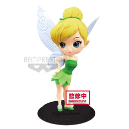 DISNEY FIGURINE Q POSKET TINKER BELL LEAF DRESS VER. A 14 CM