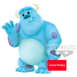 DISNEY PIXAR FIGURINE FLUFFY PUFFY PETIT SULLEY (MONSTRES & CIE.) 5 CM