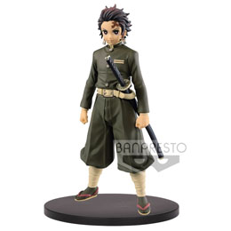 FIGURINE BANPRESTO TANJIRO KAMADO DEMON SLAYER KIMETSU NO YAIBA 15CM