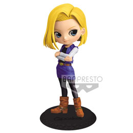 FIGURINE BANPRESTO ANDROID C-18 DRAGON BALL Z Q POSKET A