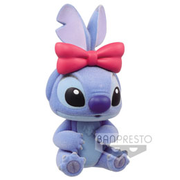 FIGURINE BANPRESTO STITCH - STITCH AND ANGEL DISNEY CHARACTERS FLUFFY PUFFY Q POSKET 6CM