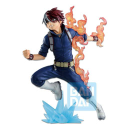 Photo du produit MY HERO ACADEMIA STATUETTE BANDAI PVC ICHIBANSHO SHOTO TODOROKI (GO AND GO!) 18 CM Photo 1