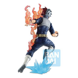 Photo du produit MY HERO ACADEMIA STATUETTE BANDAI PVC ICHIBANSHO SHOTO TODOROKI (GO AND GO!) 18 CM Photo 2