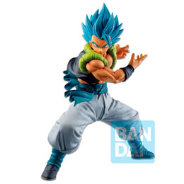 FIGURINE BANPRESTO ICHIBANSHO SUPER SAIYAN GOD SUPER SAIYAN GOGETA VS OMNIBUS Z DRAGON BALL 21CM