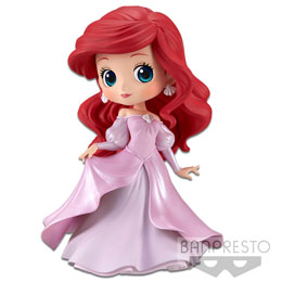 FIGURINE BANPRESTO ARIEL PRINCESS DRESS DISNEY CHARACTERS Q POSKET 14CM