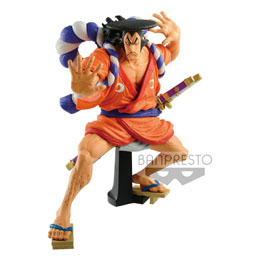 FIGURINE THE KOZUKI ODEN ONE PIECE KING OF ARTIST 17CM