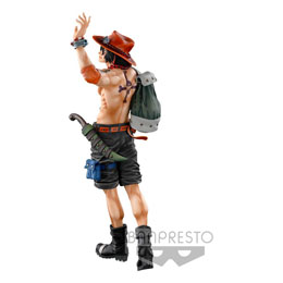 FIGURINE SUPER MASTER STARS PIECE THE PORTGAS D. ACE THE BRUSH ONE PIECE BANPRESTO WORLD FIGURE COLOSSEUM 3 TH