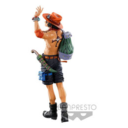 FIGURINE SUPER MASTER STARS PIECE THE PORTGAS D. ACE TWO DIMENSIONS ONE PIECE BANPRESTO WORLD FIGURE COLOSSEUM