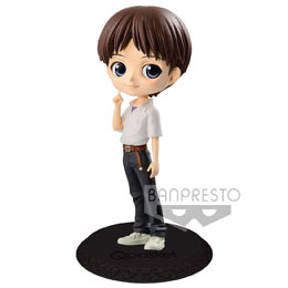 EVANGELION MOVIE FIGURINE Q POSKET SHINJI IKARI VER. B 14 CM