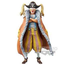 ONE PIECE STAMPEDE STATUETTE PVC DXF GRANDLINE MEN BUGGY 17 CM