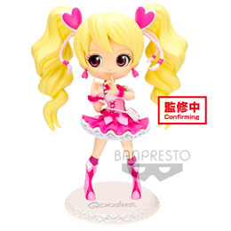 FRESH PRETTY CURE! FIGURINE Q POSKET CURE PEACH VER. A 14 CM