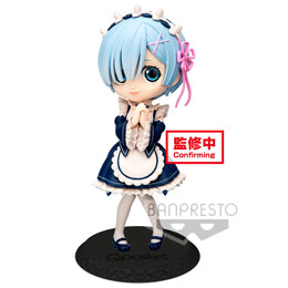 RE: ZERO STARTING LIFE IN ANOTHER WORLD FIGURINE Q POSKET REM VER. A 14 CM