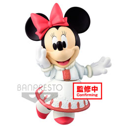 DISNEY FIGURINE FLUFFY PUFFY MICKEY & MINNIE B: MINNIE