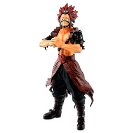 FIGURINE BANPRESTO EIJIRO KIRISHIMA FIGHTING HEROES FEAT ONES JUSTICE MY HERO ACADEMIA 24CM