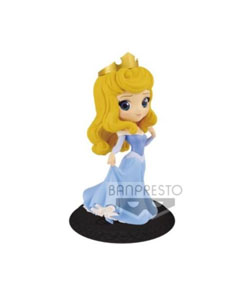 FIGURINE DISNEY Q POSKET CHARACTERS PRINCESS AURORA BLUE DRESS
