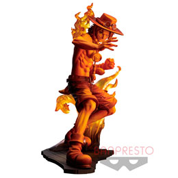 ONE PIECE STAMPEDE STATUETTE PVC POSING SERIES ACE 14 CM