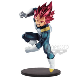 DRAGON BALL SUPER STATUETTE PVC BLOOD OF SAIYANS SUPER SAIYAN GOD VEGETA SPECIAL VII 15 CM