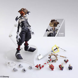 Photo du produit KINGDOM HEARTS II BRING ARTS FIGURINE SORA HALLOWEEN TOWN VER. 15 CM Photo 1