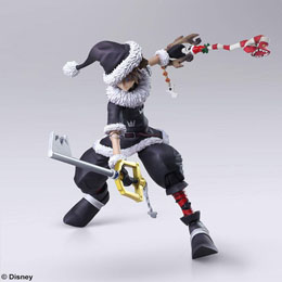Photo du produit KINGDOM HEARTS II BRING ARTS FIGURINE SORA CHRISTMAS TOWN VER. 15 CM Photo 4