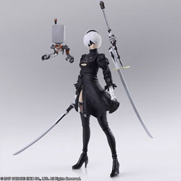 NIER AUTOMATA FIGURINE BRING ARTS YORHA NO.2 TYPE B VERSION 2.0 14 CM