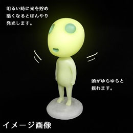 FIGURINE KODAMA GLOW IN THE DARK BOBBLE HEAD - PRINCESSE MONONOKE