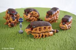 Mon voisin Totoro assortiment 6 figurines Catbus 6 cm