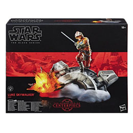 Photo du produit STAR WARS BLACK SERIES CENTERPIECE 2017 DIORAMA LUKE SKYWALKER 15 CM Photo 1