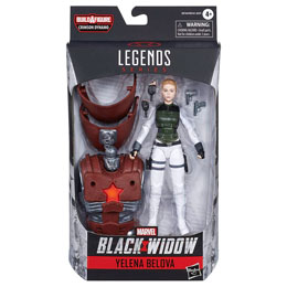 FIGURINE HASBRO LEGENDS YELENA BELOVA BLACK WIDOW MARVEL 15CM