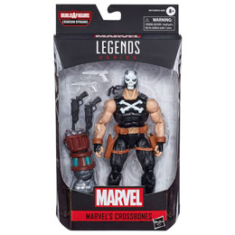 FIGURINE LEGENDS MARVEL CROSSBONES BLACK WIDOW MARVEL 15CM