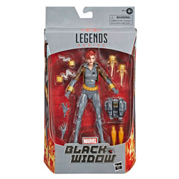 FIGURINE HASBRO BLACK WIDOW LEGENDS SERIES MARVEL