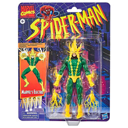FIGURINE HASBRO MARVEL ELECTRO SPIDERMAN 15CM