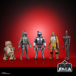 STAR WARS CELEBRATE THE SAGA PACK 5 FIGURINES BOUNTY HUNTERS 10 CM