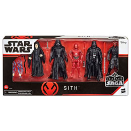COFFRET 5 FIGURINES SITH STAR WARS CELEBRATE THE SAGA