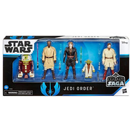COFFRET 5 FIGURINES JEDI ORDER STAR WARS CELEBRATE THE SAGA