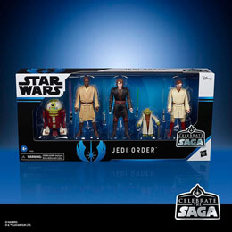 Photo du produit COFFRET 5 FIGURINES JEDI ORDER STAR WARS CELEBRATE THE SAGA Photo 2