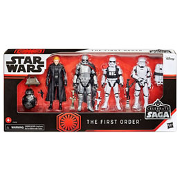 COFFRET 5 FIGURINES BOUNTY HUNTERS STAR WARS CELEBRATE THE SAGA