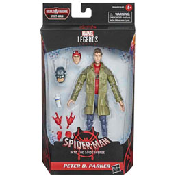 FIGURINE HASBRO PETER B. PARKER SPIDERMAN INTO THE SPIDER-VERSE MARVEL 15CM