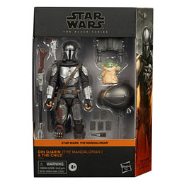 FIGURINES HASBRO STAR WARS DIN DJARIN THE MANDALORIAN Y THE CHILD THE MANDALORIAN