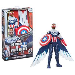 Marvel Falcon and the Winter Soldier Captain America titan figure 30cm